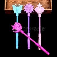 Flashing Light Up Sticks Magic LED Wands DJ Fairytale Princess Costume Fancy Dress Glow Star Crown Gift