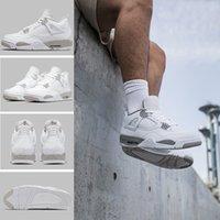Jumpman 4s Baloncesto Zapatos de baloncesto 4 Investigación de la Universidad Blue High-Top Sports Treadless Hombres Mujer Hyper Royal UP Top Tim Talla 36-46 US11 US12 US13 con la mitad