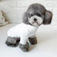 Dog Apparel Korean Medium White Clothes Cute Jumpsuit Chichuahua Fashion Accesorios Para Perros Clothing For KK6GJK