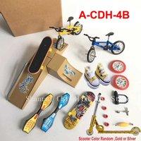 Skateboarding board BMX Bicycle Finger Scooter Sho Skate Boards Mini Bik Toys For Children Boys Kids Gifts