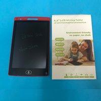 Borreable 8.5 pulgadas LCD Tableta Tablero Tablero Pizarra Pizarra Pads de escritura manipulia Regalo para niños Sin papel Bloc de notas Memo con pluma mejorada