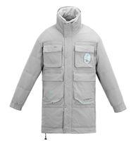 Kissqiqi Мужской пункт Parka зимние ветрозащитные пальто верхней одежды теплые повседневные моды плюшевые воротники