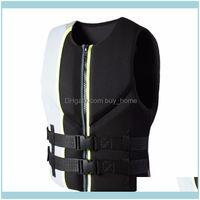 Natação Esportes de Água Outdoorsneoprene EPE Espuma Baixa Preço Jaqueta de Vida Mulheres Segurança Alta Visibilidade Jaqueta Vest Bóia Gota entrega 2021 FW
