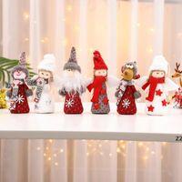 Christmas ornaments creative wings angel old man pendant xmas tree small pendants children gift HWF10335