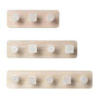 Nordic Wood Catter Cink House Crochet Maison Décoratif Vêtements Cintres Porte-clés Porte-clés Hunfr Cinfe Tablette Vert