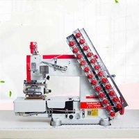 Vc008 Sewing Machine 12 13 Needle Elastic Waist Pulling Machine Trousers Stretching Tape Multi-needle Machine