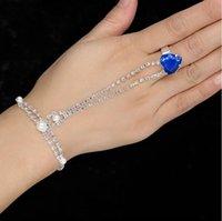 Nupcial jóias latin dance acessórios mão volta cadeia de moda menina simples bracelete de cristal mulher especial ocasião jóias
