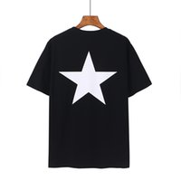 Hombre T Shirts Summers Essentials Fog Miedo Miedo a Dios Pentagrama Tshirt Impreso Streetwear Fashion Tops Hombres Mujeres Hip Hop Manga corta Tees 08