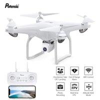 Potenssische GPS-Drohne mit 1080p 120 ° Weitwinkel-Kamera 5g Wifi FPV-Echtzeit-Übertragung Quadcopter Professional RC dron Spielzeug