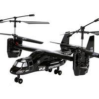 Nuova versione 4.5ch RC Aereo di trasporto Osprey pronto a volare Aereo Osprey con Gyro con luce di Natale 2016 Regali per bambini