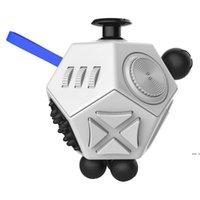Kutsal Kristal Dekompresyon Küp 12 taraflı Dekompresyon Zar Oyuncakları Anti Anksiyete Küpleri Bulmaca Oyunu Dekompresyon Oyuncak Fidget HWF5455