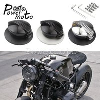Motorcycle Fuel System Aluminum Classic Tank Filler Cap Gas Oil Cover Lock For 2014-2021 R NINE T R9T
