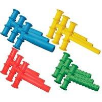 Gelbe Kauschlauch sensorische Spielwaren T-Form Kau-Beißraub-Röhre für Kinder Kinder-Autismus ADHD-Sonderanfragen 312 Y2