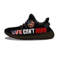Diy Custom We Can't Breathe Usa Flag Running Shoes Mh Printed Mens Womens Trainers Outdoor Sports Sneakers YKDV
