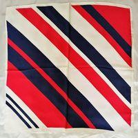 أزياء الرجعية الصغيرة الطباعة الحرير وشاح الإناث تقليد الحرير كبير مربع وشاح مربوطة حقيبة الديكور الربيع والخريف الأوشحة متعددة الوظائف