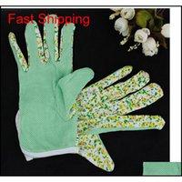 100% cotone antisiskid personale di lavoro di sicurezza sicurezza morbido jersey donne giardinaggio guanti da lavoro 4 colori gratuiti jllpml mx_home