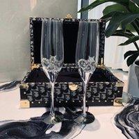 Hochwertige Weingläser Crystal Champagne Flöten Cocktail Becher Tasse Geeignet für Restaurant, Zuhause und Jegliche Art Partei Kostenloses Schiff