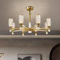 FSS Современные роскошные хрустальные люстры для гостиной столовая спальня в помещении светильники света Светодиодные дома