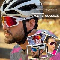 2021 P-Ride Photochromic Polarized Lens Cycling Glasses man Mountain Bike Bicycle Sport Cycling Sunglasses MTB Cycling Eyewear woman