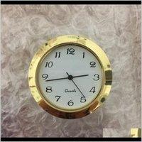 Золотой 1 7/16 дюймов пластиковая вставка Часы Столмеца Арабский циферблат поддано часы PC21S Movement 89H1x Tijwf