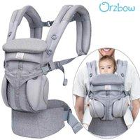 캐리어, 슬링 배낭 orzbow Baby Carrier Borns를위한 아기 캐리어 슬링 인체 공학적 캥거루 배낭 전면 유아용 랩 히스 페트 홀더 어린이 아이들