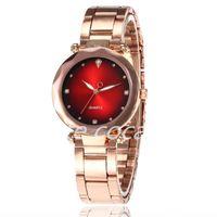 5pcs popolare Acqua di alta qualità in acciaio per castagne in acciaio al quarzo al quarzo orologio coreano moda Trend Gatch watch femminile Nuovo produttore-23-4