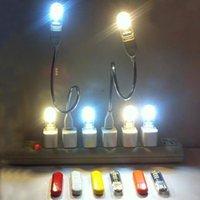 Lampe LED Lumière Lumière Mini USB LED lumières 5V Power Bank Light Light Cahier portable Portable 1PC 4 couleurs Lumières de nuit USB Badroom