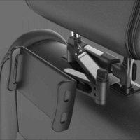 Flexible 360 grados giratorios para almohada de automóvil para iPad portafle de teléfono móvil tablet stand stand respaldado soporte de montaje del reposacabezas 5-11 pulgadas