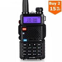 Walkie Talkie Wireless Interphone Uv-5r Zwei Weg CB Upgraded Baofeng Uv5r 128ch 5W VHF UHF 136-174 MHz And 400-520mhz