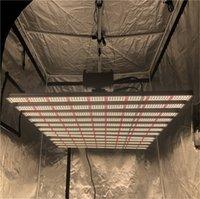 8BARS TUBE HO T5 LED Grow Lights, 2FT 3FT 4FT Spectrum UV Substituição UV Solar, 600W Luminária integrada de alta saída com cabide de corda