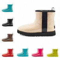 ugg uggs Classic Clear Mini Designer women australia australian boots winter men snow child kids fur furry satin boot 20 ankle booties leather