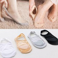 Socks & Hosiery Wholesale Harajuku High Heels Cotton Cute Candy Invisible Thin Ankle Boat Cut Sock Color Low Sl Y6l3
