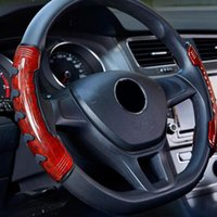 Steering Wheel Covers Universal Fit Soft Non Slip DIY Labor Saving Auto Car Styling Protective Cover Fashion Easy Install Interior