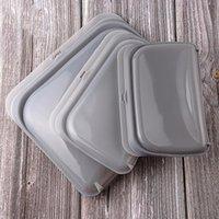3 قطع أكياس سيليكون حقيبة تخزين الأغذية ختم حافظ الطعام حقيبة سيليكون حقيبة الغذاء مناسبة للثلاجات، ميكروويف أفران 20 V2