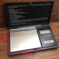 Pocket Digital Balance Balance Peso Escalas 4 Especificaciones Plata Moneda Diamante Joyería de diamante Sin batería Escala electrónica Mar HHC6592