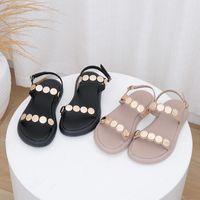 Sandalet Temizle Topuklu Moda Bayan Ayakkabı 2021 Toka Kayış Bej Topuklu Tüm Maç Lüks Siyah Gladyatör Düşük Kızlar Konfor Summe