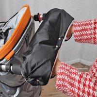 Stroller Parts & Accessories Winter Warm Gloves Accessory Outdoor Pram Hand Muff Mitten Baby Carriage Pushchair Fur Fleece Cover