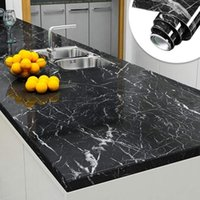 Wall Stickers 3M Marble Waterproof Countertop Sticker Self Adhesive Wallpaper Decorative Film Kitchen Cabinet Contact Paper Home Decor