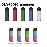 SMOK Novo 2S Pod Kit 20W Vape Device Built-in 800mah Battery with 1.8ml Clear 0.9ohm Meshed Cartridge for MTL Vaping 100% Original