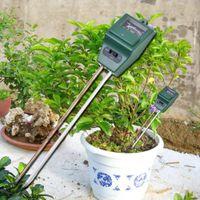 جديد وصول 3 في 1 درجة حرجة الفاحص التربة كاشف المياه الرطوبة الرطوبة ضوء اختبار متر الاستشعار ل حديقة مصنع زهرة GWA4216