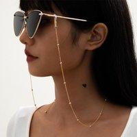 Sunglasses Fashion Pearl Glasses Chain Women Men Eyeglass Cord Retainer Holder Eyewear Lanyard Neck Strap Rope