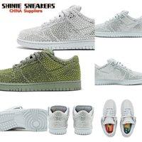 Shoes Authentic CPFM Diamonds Dunk Men SB Cactus Plant Flea Market Low Pure Platinum Spiral Sage Zapatos Sports Skateboard Sneakers