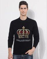 2021 새로운 남성 코튼 스웨터 풀오버 캐주얼 점퍼 남성 니트 스타일 의류 다이아몬드 스톤 스웨터 Z9CJ