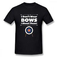 T-shirts de los hombres con tiro con arco de moda Diseño divertido de las mujeres Arcanas Lanzamos Homme Tee Shirts Hombre Llegada Verano para hombre Ropa de cuello redondo masculino