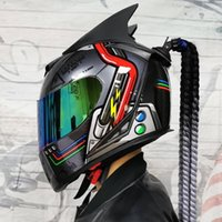 Motorcycle helmet, complete mask, easy to sweat, fuselage, m...
