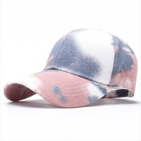 Fashion Men And Women Caps Spring Summer Camouflage Mixed Color Baseball Cap Running Outdoor Sun Hat