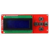 3D принтер Accessory 2004 LCD Smart Display экран контроллера модуля с кабелем для Mega щит Reprap 3D принтер A8