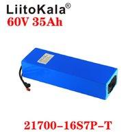 LIITOKALA 60 V 35AH Piller Paketi Scooter Bateria Elektrikli Bisiklet Lityum 67.2V 1000 W 2000 W Ebike Pil