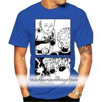 Männer t-shirts Einer Schlagmann Saitama und Genos Manga White T-Shirt Fubuki Caped BALDY S-6XL Hohe Qualität T-Shirt
