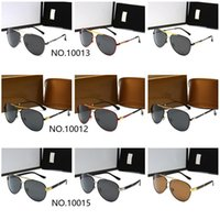 Óculos de sol de luxo de alta qualidade UV400 óculos de sol de esportes para homens e mulheres verão sol óculos ao ar livre bicicleta sol vidro 9 cores com caixa